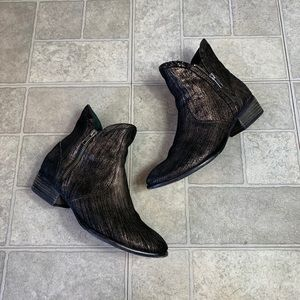 Seychelles Lucky penny Graphite bootie size 7